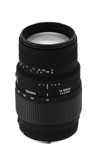 Sigma 70 300mm Telephoto Minolta Cameras product image
