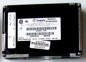 SEAGATE ST9235AG 209MB IDE 2.5 17MM - Siehe