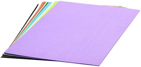 10枚 スポンジシート用紙 発泡紙 フォーム用紙 ハンドクラフト カラフル紙 全2選択 - #2