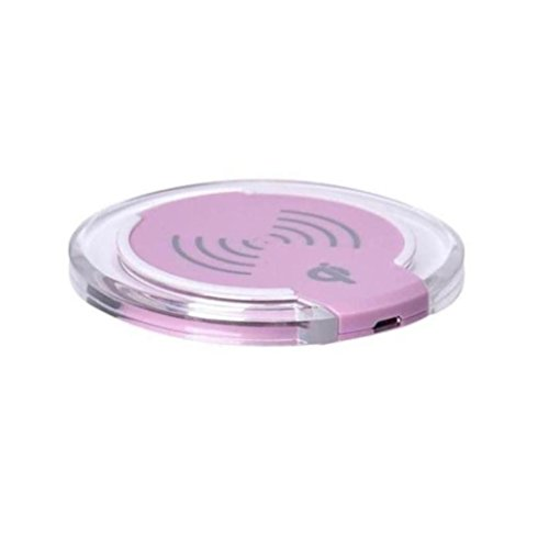 Price comparison product image Hot Sale! Qi Wireless Charger,Sunfei Qi Wireless Charger Charging Pad for iPhone 8/iPhone 8 Plus Smartphone (Pink)