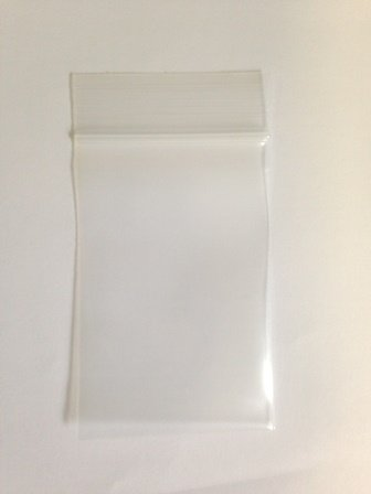 2″ x 3″, 4Mil Thick Clear Reclosable Zip Lock Bags, case of 1,000