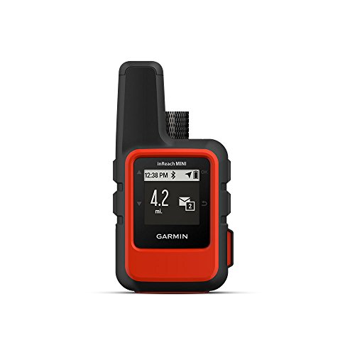 Garmin inReach Mini, Lightweight Compact Handheld Satellite Communicator, Orange