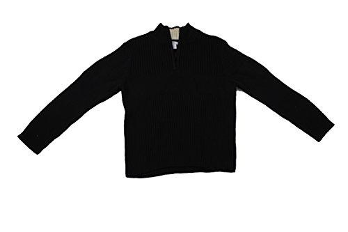 Greendog Boys Quater Zip Pullover Sweater Black Jack 7