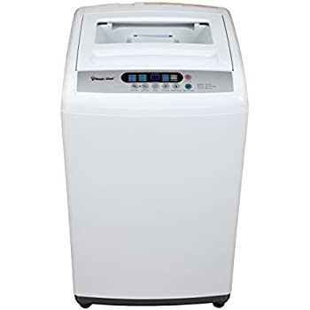 Magic Chef MCSTCW16W3 1.6 cu. ft. Topload Compact Washer, White