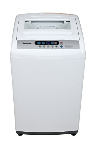 Magic Chef MCSTCW16W3 1.6 cu. ft. Topload Compact Washer, White (Apartment Washing Machine)