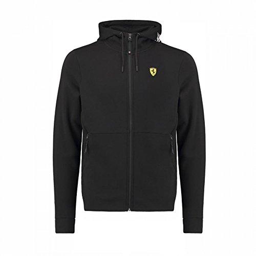 - Scuderia Ferrari Formula 1 Men's 2018 Black Hooded Sweat Jacket (2XL)