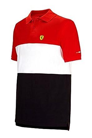Polos Ferrari Scuderia Ferrari Ferrari noirs homme aYe0tfNdI