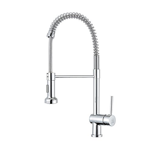 HOME SHOW Copper Pull Out Bar Sink Kitchen Faucet Pull Down Sprayer Mixer Tap Kitchen Faucet Chrome C03 1077 Chrome Kitchen Mixer Tap