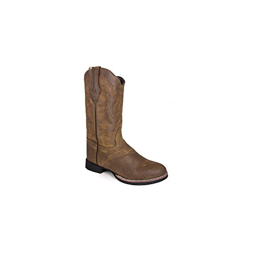 Smoky Mountain 6136 Women's Showdown Boot, Brown Distress - 9M