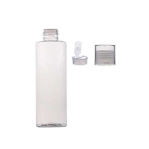 3PCS 150ml/5oz Empty Clear Refillable Plastic Toner Lotion Bottle Jar Container Travel Cosmetic Makeup Essential Oil Packing Bottle Jar