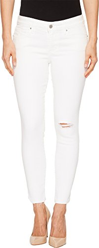 (Levi's Women's 711 Skinny Ankle Jeans, Wash Out White 34 (US 18))