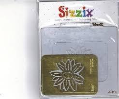 Sizzix Simple Impressions Embossing Folder - Flower, (Sizzix Simple Impressions Embossing Folder)