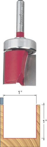 Freud 50-112 1-Inch Diameter Top Bearing Flush Trim Router Bit with 1/2-Inch Shank 50-112-FRD