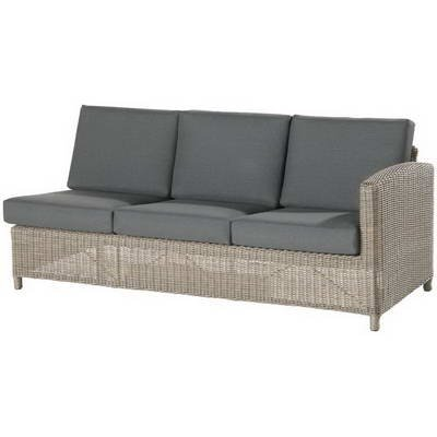 4 Seasons 3-Sitzer Sofa Lodge Pure Armlehne Links