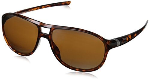- Tag Heuer 66 6043 211 601603 Oval Sunglasses, Brown, 60 mm