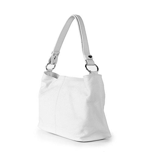 à femme KUTA BAG OH MY Modèle Main Sac cuir Blanc gPZtnqP
