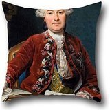 Pillowcase Of Oil Painting Alexander Roslin - Ulrik Scheffer (1716 �99),for Study Room,couch,festival,monther,saloon,wife 18 X 18 Inches / 45 By 45 Cm(twin Sides)