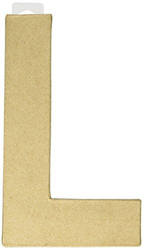 Darice 2862L Paper Mache Letter 8Inx55in