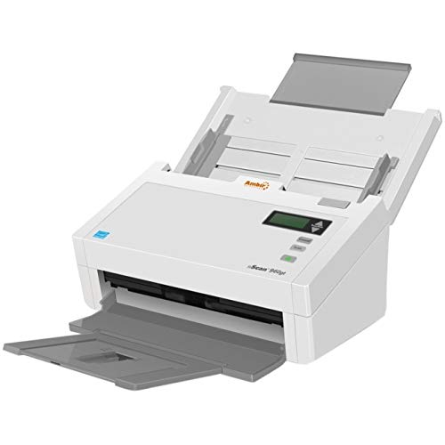 Image of Document Scanners Ambir nScan 960gt Sheetfed Scanner - 600 dpi Optical - 48-bit Color - 16-bit Grayscale - 70 ppm (Mo