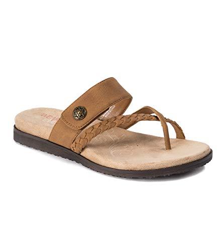 Wear.Ever. Laina Women's Sandals & Flip Flops Tan Size 7 M (WR12592)