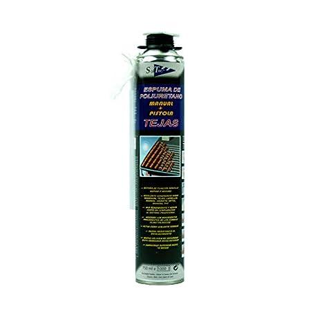 Espuma de poliuretano (Fijación tejas) 750ml: Amazon.es: Bricolaje y herramientas
