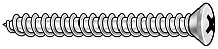 1 3//4 L PK100 Oval 10 Sheet Screw