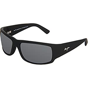 Maui Jim Sunglasses - World Cup / Frame: Matte Black Rubber Lens: Neutral Grey