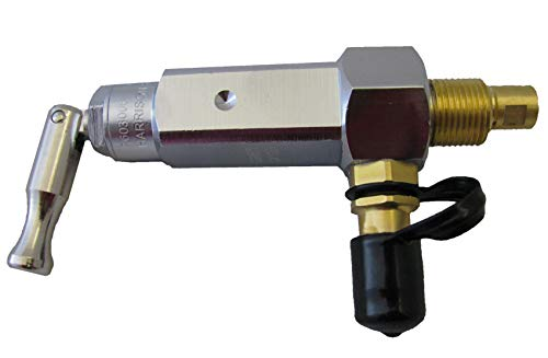 The Aftermarket Group Oxygen Cylinder Post Valve, for Self-Fill M-Tanks, TAGSFPVT-M
