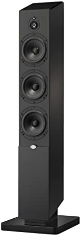 NHT Media Series 3-Way Dolby Atmos Tower Speaker, Single, High Gloss Black