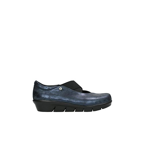 Sandalo Comfort Slipons Cursa 10823 Nabuk Blu Marino