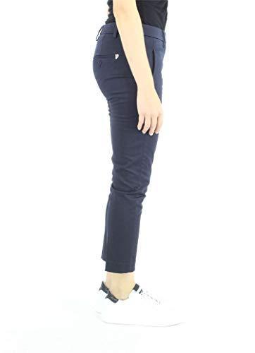 Donna RS004 Pantalone DONDUP DP066 Blu PERFECT qgnCBfwB