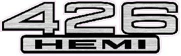 426 Hemi Emblem Decal 5