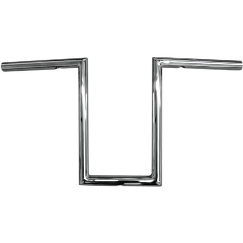 LA Choppers 1in. Old School Handlebar - 12in. Narrow Z - Chrome , Handle Bar Size: 1in., Color: Chrome 0601-2058 ()