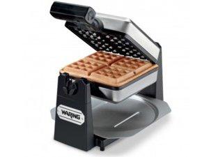 1000-Watt Square 4-Slice Belgian Waffle Maker
