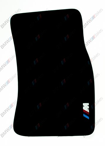NEW CAR FLOOR MATS BLACK with ///M EMBLEM for BMW 6 series E63 by VOPI MATS (Image #2)