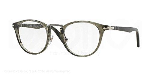 Persol Eyeglasses PO3107V 1020 Striped Grey 49 22 - Persol Luxottica