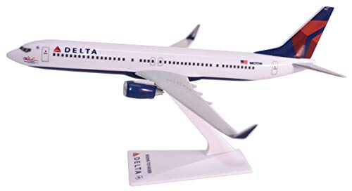 Flight Miniatures Delta (07-Cur) 737-900ER Airplane Miniature Model Plastic Snap Fit 1:200 Part# ABO-73790H-008 ()