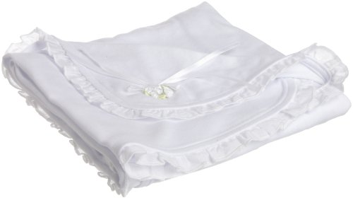 Biscotti Baby-Girls Newborn English Eyelet Blanket In Netting Bag
