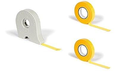 [4 pcs SET] 3 Masking Tape Refills 10mm & 1 Dispenser by Tamiya from Japan