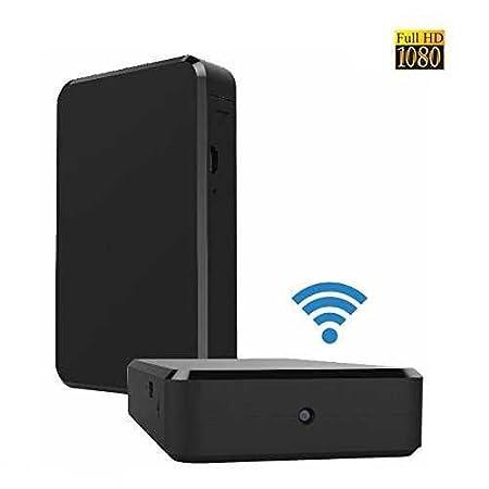 #BriReTec® Wi-Fi Black-Box getarnte Mini-WLAN-Kamera#