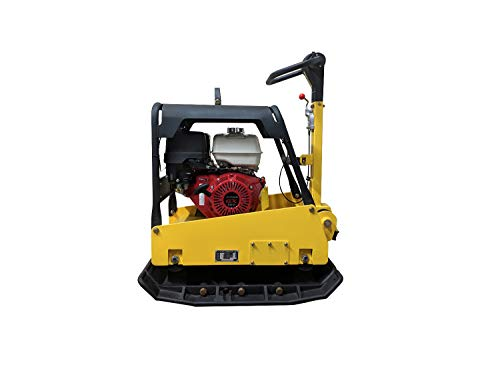 Stone Plate Compactor - Hoc CY350 Reversible Plate Compactor Hydraulic Handle + 3 Year Warranty + Wheel Kit