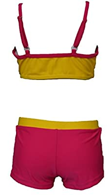 Kingtop Baby-Girls Two Piece Tankini Swimsuit