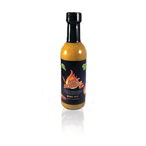 MY LIFE'S HOT BODIES SPICY MUSTARD GLUTEN FREE, VEGAN FRIENDLY - The #1 Zero Calorie, Zero Carb, Zero Sugar, FAT BURNING, APPETITE SUPPRESSING, and ANTI-INFLAMMATION (Spicy Mustard Sauce)