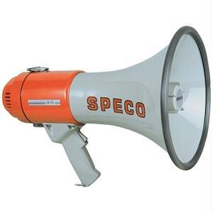 Speco Technologies Megaphone, White, Full-Size ()