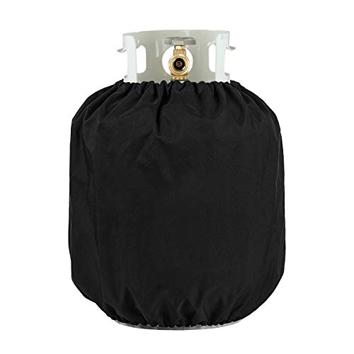 (UNICOOK Heavy Duty Propane Tank Cover - Dress up Your Gas Grill - Special Fade and UV Resistant Fabric- Durable and Convenient, Fits Standard 20lb Tank Cylinder)