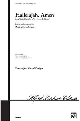 Alfred 00-7741 Hallelujah-Amen-de Judas Macabeo - Music Book ...