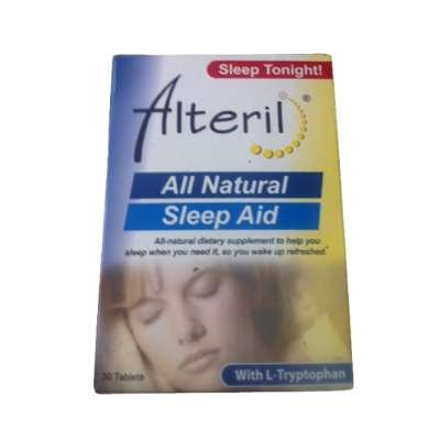 BIOTAB nutraceutiques Sleep Aid Alteril avec L-tryptophane, comprimés 30 EA