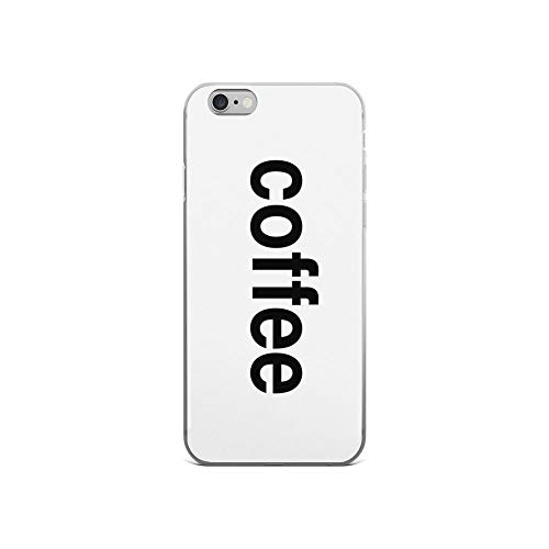 iPhone 6 Case iPhone 6s Case Clear Anti-Scratch Shock Absorption Coffee Cover Phone Cases for iPhone 6/iPhone 6s]()