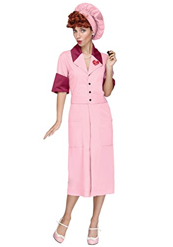 I Love Lucy Womens Candy Factory Costume - M/L for $<!--$26.24-->