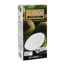 (Chaokoh 100% Pure Coconut Milk 33.8oz Pack of 3)